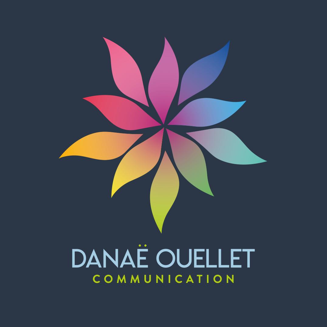 Danaë Ouellet Communication Logo 2020 Profil Vert