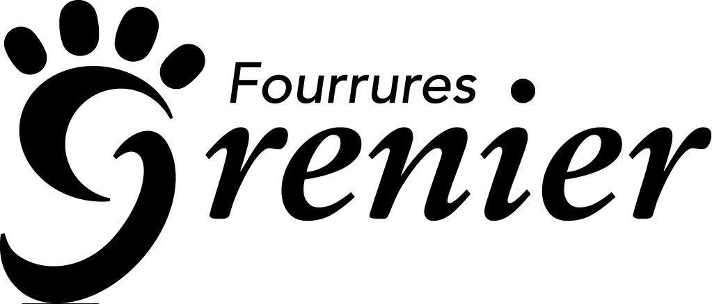 Fg Logo Fourrures Noir